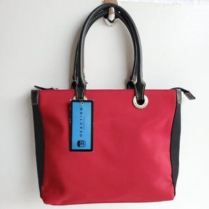 Red Black Small Purse Bag Tote Shoulder